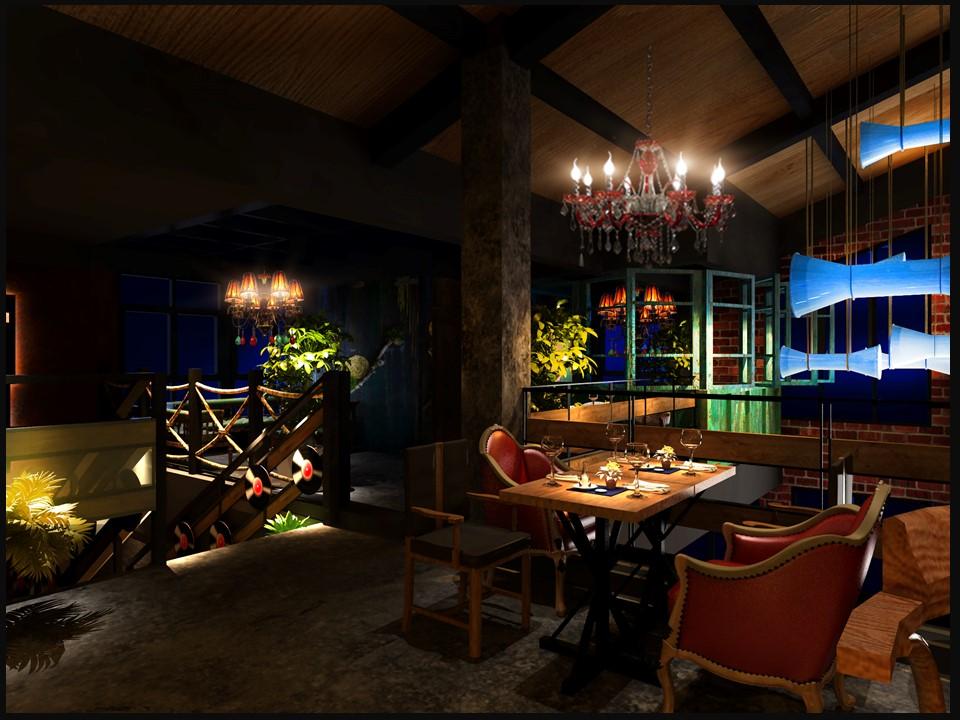 餐饮空间设计案例图片